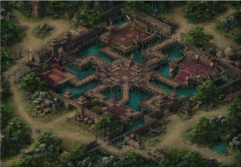 《战国之怒》游戏原画