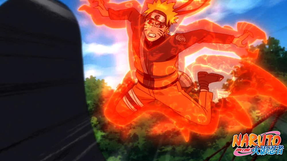 《火影忍者OL》战斗画面