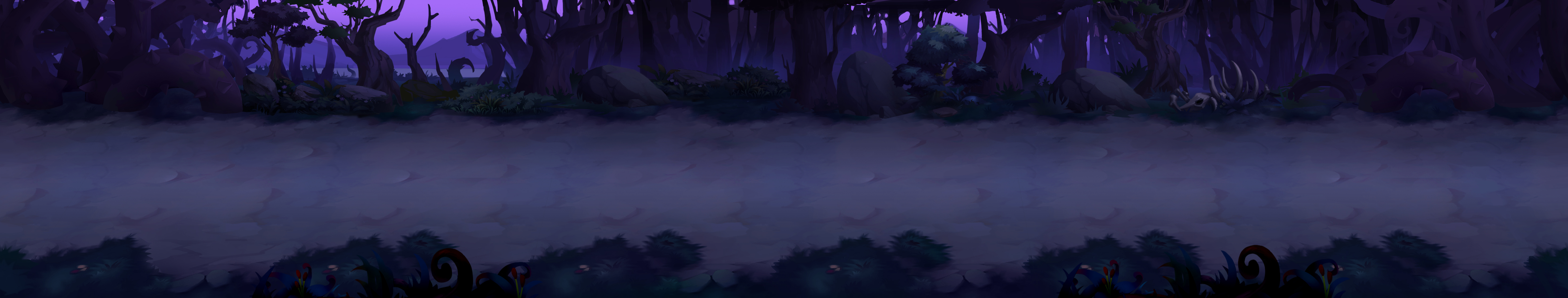 《英魂猎手》场景原画