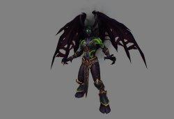 GC 2015:《魔兽世界:军团再临》新英雄职业恶魔猎人设定图