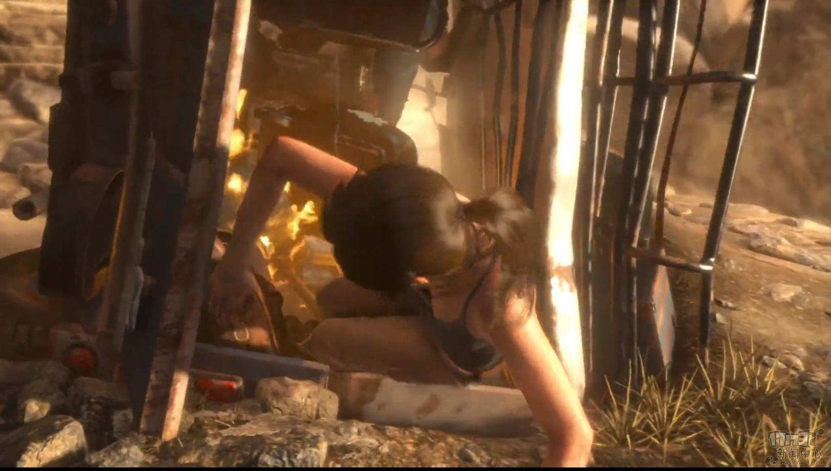 《古墓丽影:崛起》13分钟演示图片