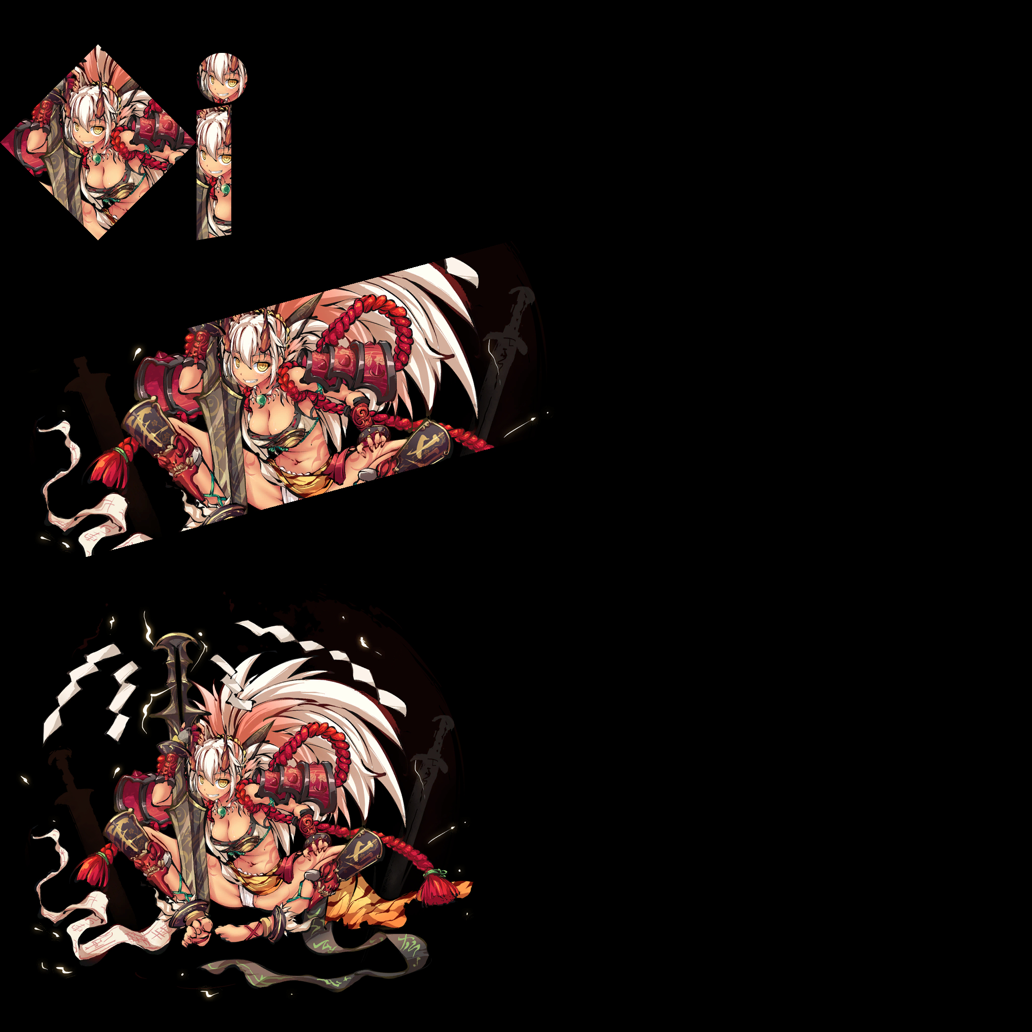 《九十九姬》立绘图