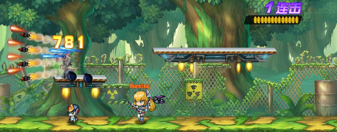 《魂斗军团》游戏截图