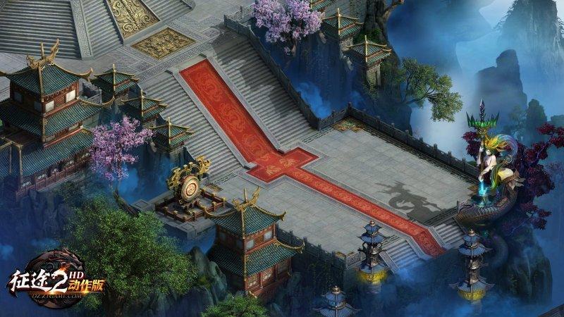 《征途2动作版》场景高清图第2张