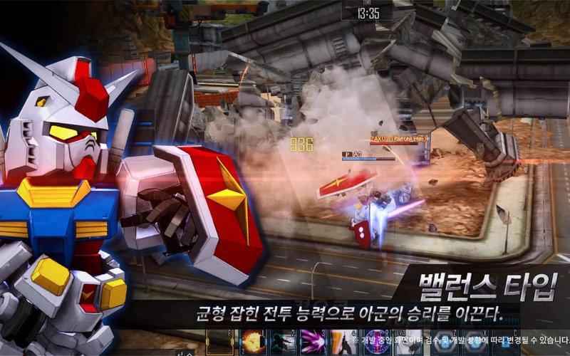 《SD敢达OL2》韩服公测壁纸第4张