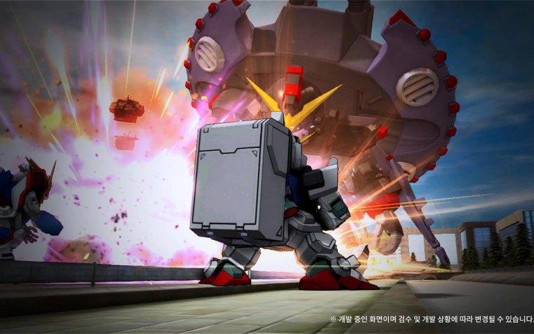 《SD敢达OL2》韩服公测壁纸第5张