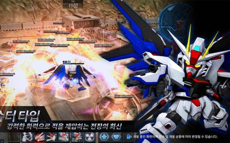 《SD敢达OL2》韩服公测壁纸第3张