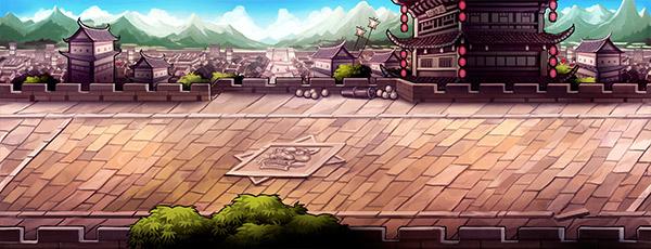 《九十九姬》场景原画