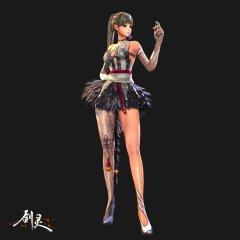 《剑灵》1月新版时装和BOSS