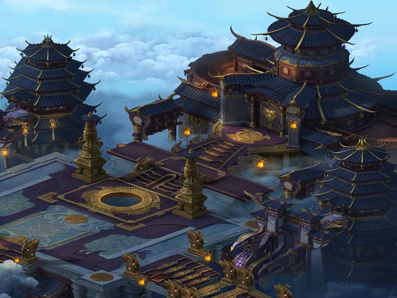 《剑雨江湖》场景原画欣赏