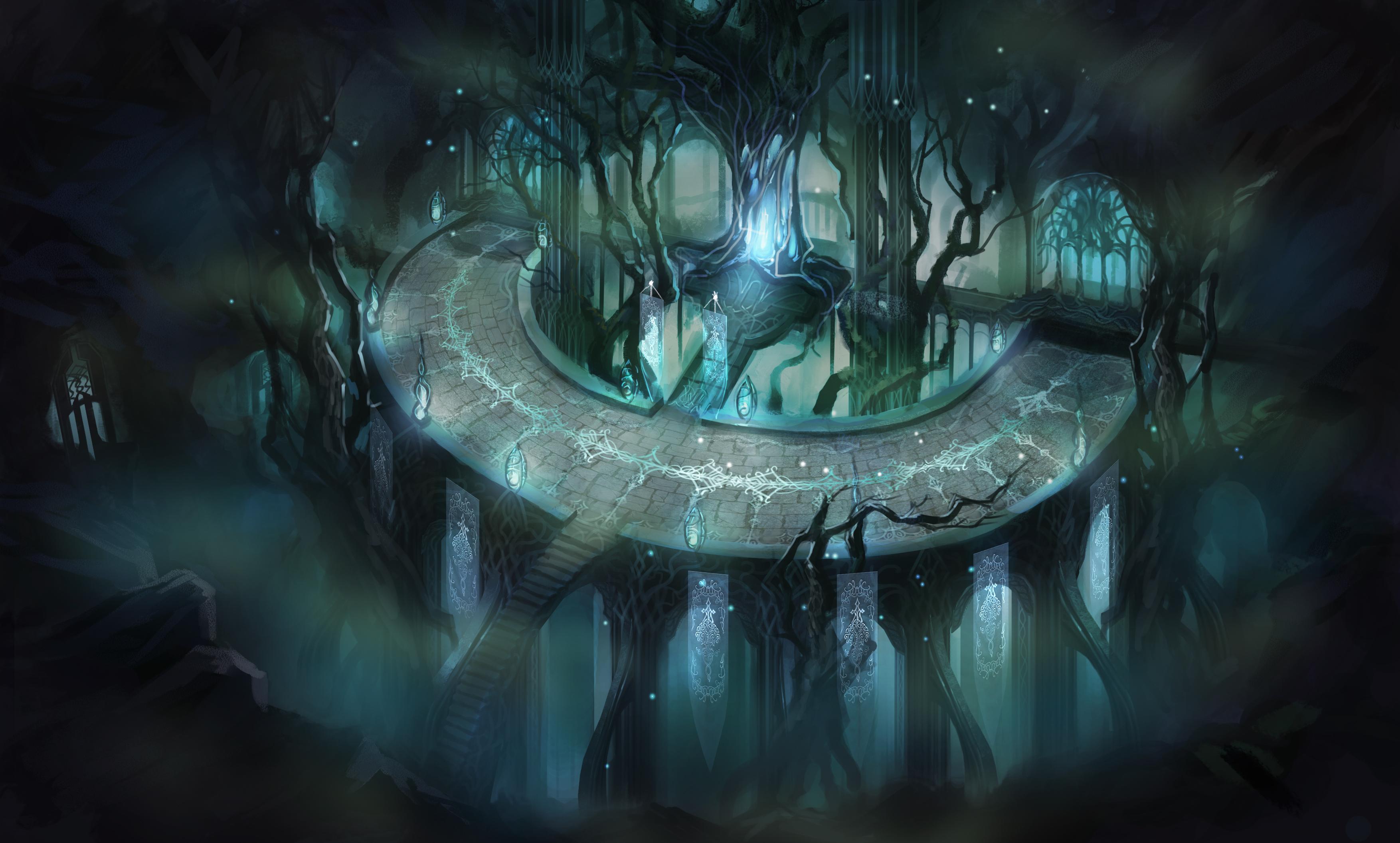 《暗黑守护神》精美原画欣赏