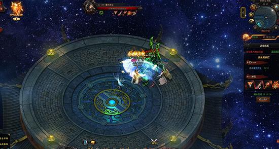 《蓝月传奇》游戏截图
