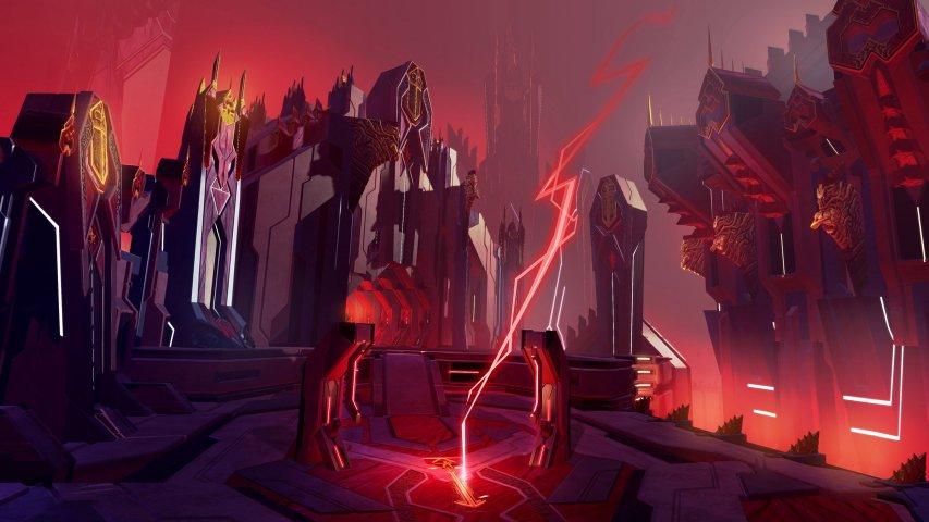 MOBA新作《为战而生》游戏截图第1张
