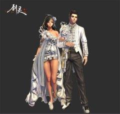 《剑灵》推首个婚纱时装