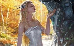 传说中的未知生物游戏美女图