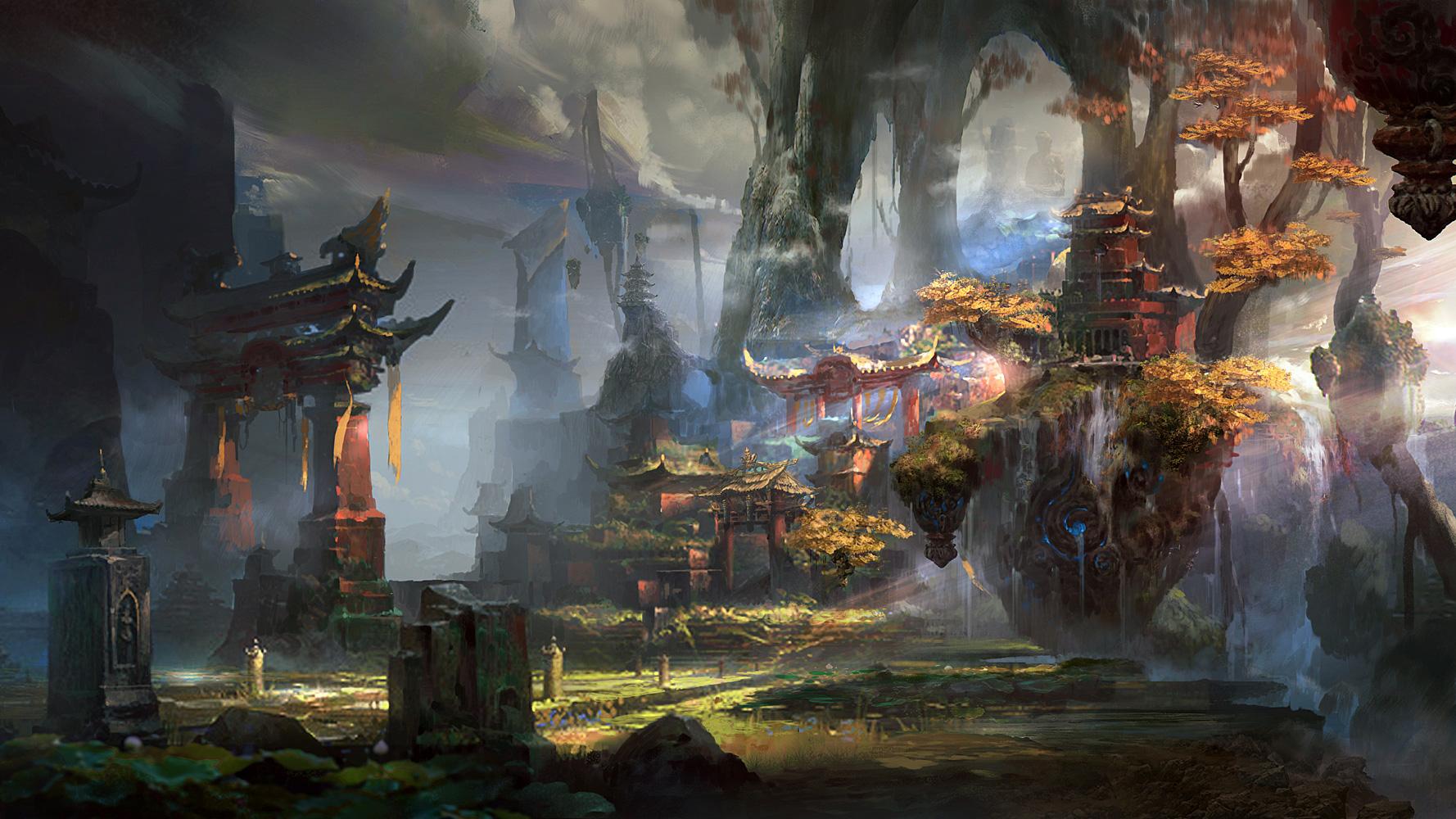 《大闹天宫2》游戏截图原画欣赏