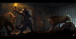 《刺客信条》官方场景原画