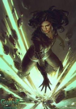 《巫师:昆特牌》精美原画