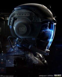 《使命召唤13:无限战争》人物概念图