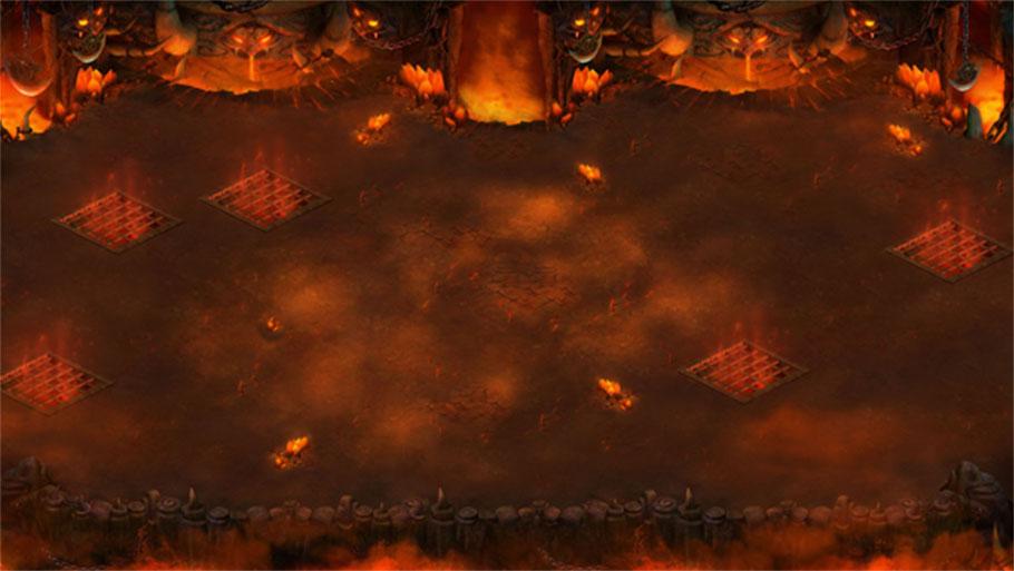 《战国之野望》游戏场景图