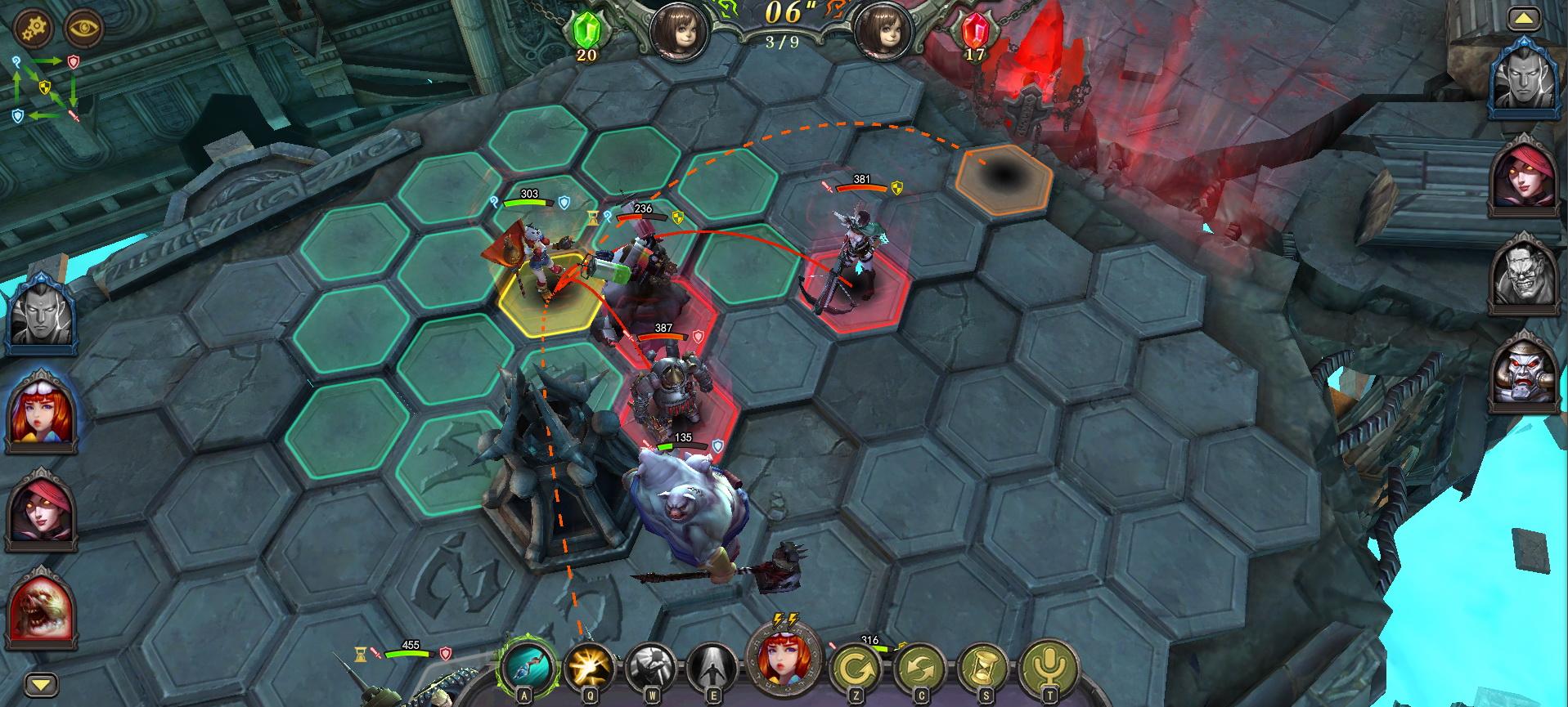 《巫术战争》游戏截图