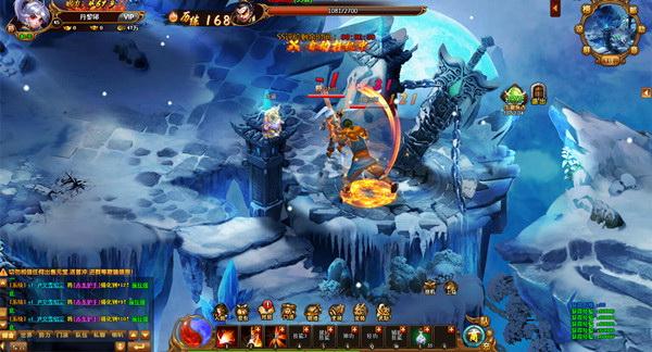 《新热血江湖》游戏截图