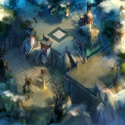《上古诸神》游戏场景原画欣赏