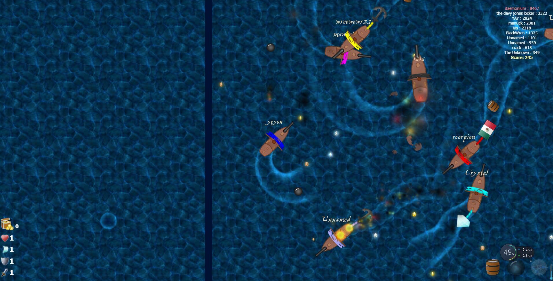 《海盗战争》游戏截图