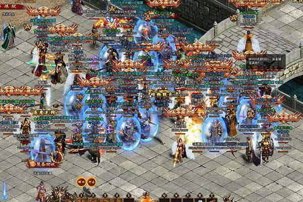 《传奇世界网页版》游戏截图