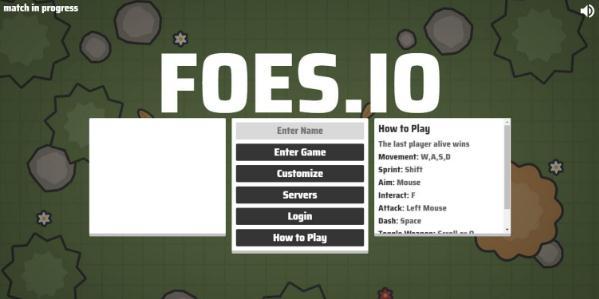《Foes.io》游戏截图