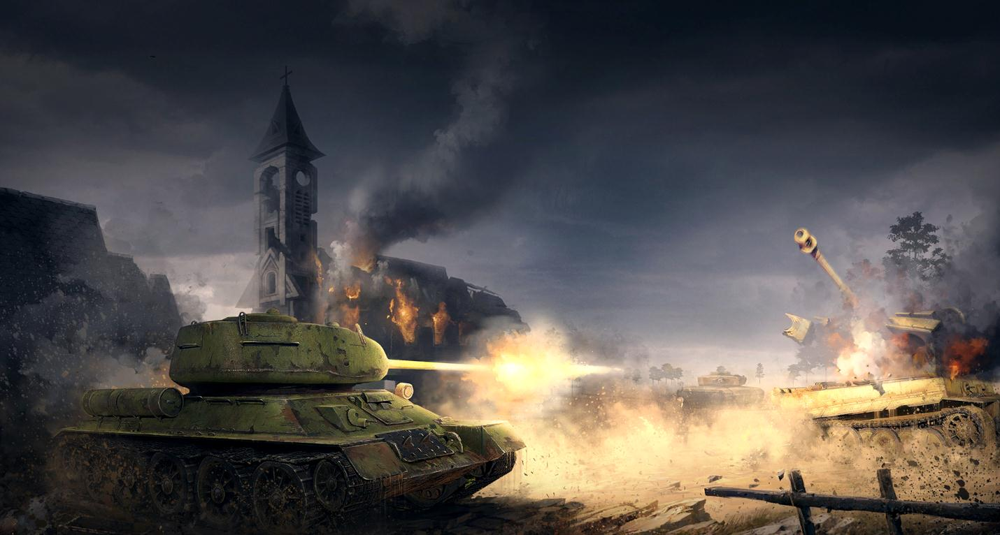 《坦克战争》游戏截图