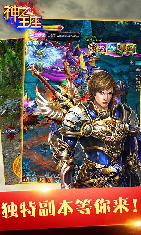 《神之王座》游戏截图