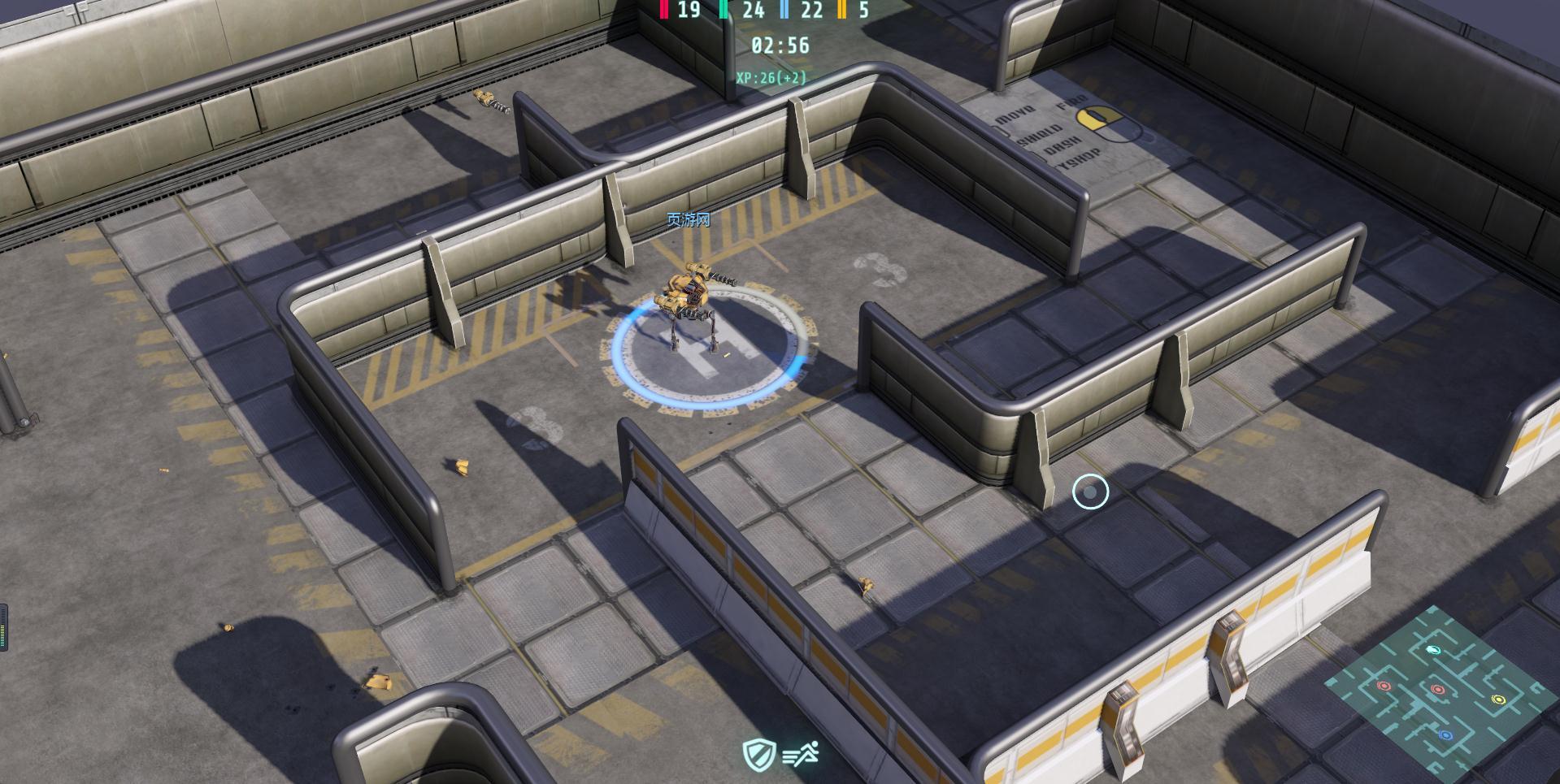 《3D机器人大战》游戏截图