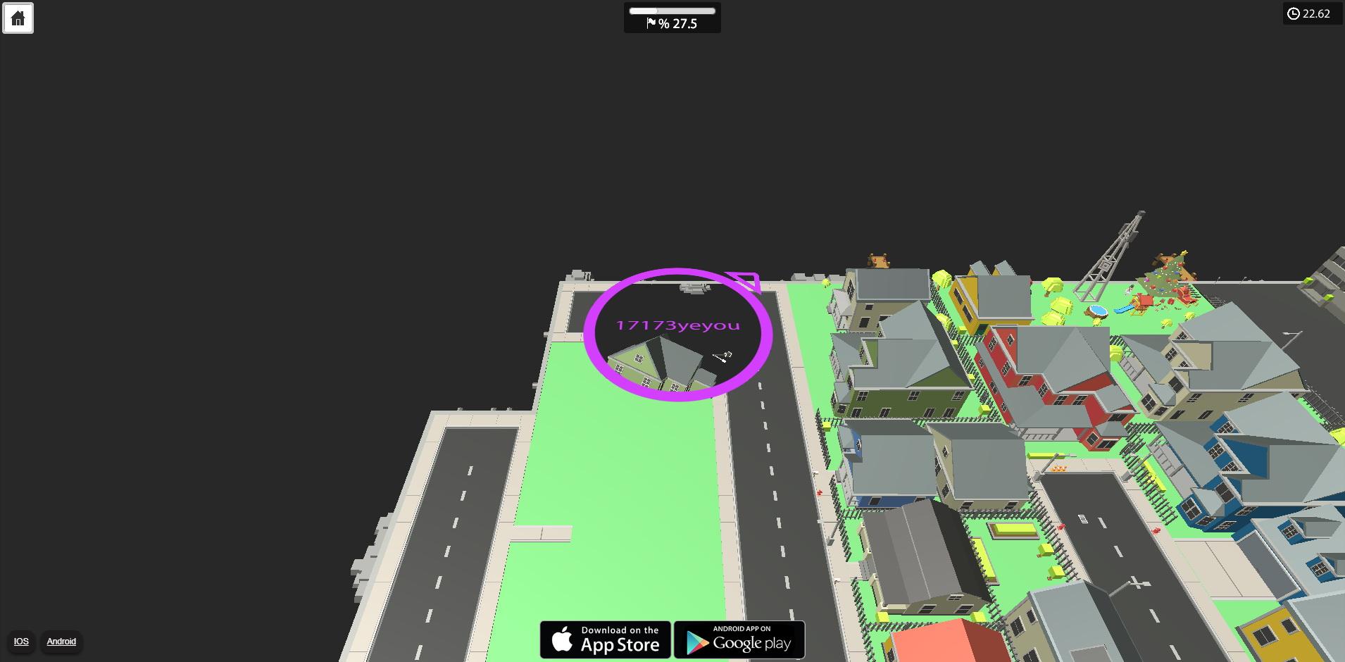 《yumy.io》游戏截图