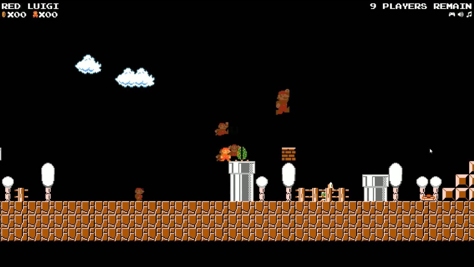 《超级马里奥大逃杀》游戏截图