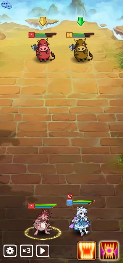 《精灵召唤师H5》游戏截图