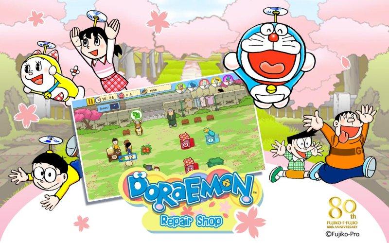 哆啦A梦修理工厂游戏截图第1张