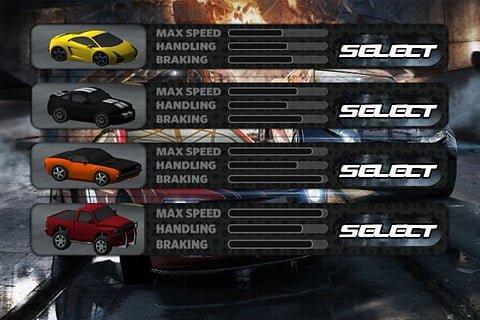 3D赛车狂飙游戏截图第2张