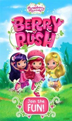 草莓女孩跑酷游戏截图