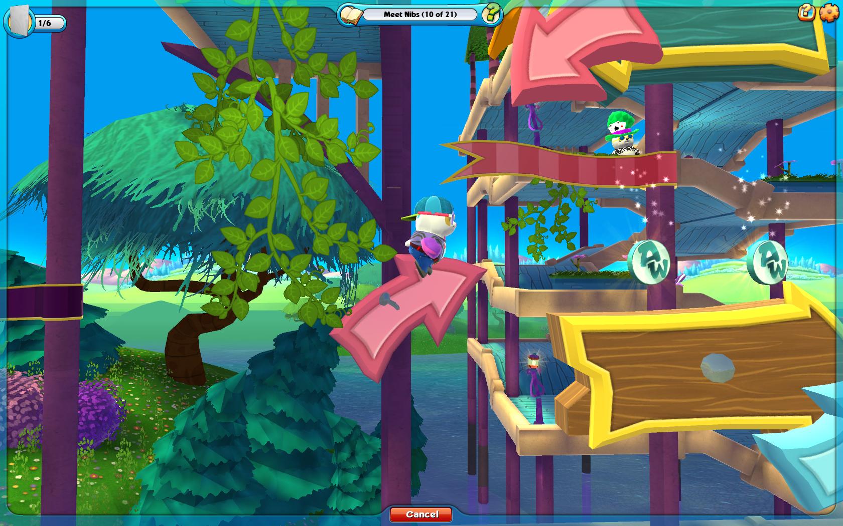 奇妙世界 游戏画面