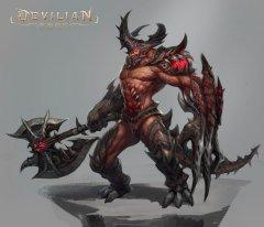 恶魔契约-怪物原画