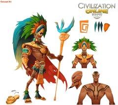 文明帝国OL-游戏原画