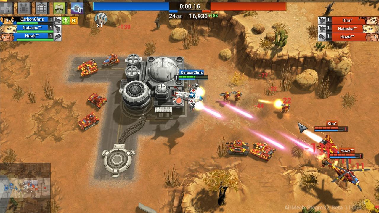 空甲联盟 游戏画面