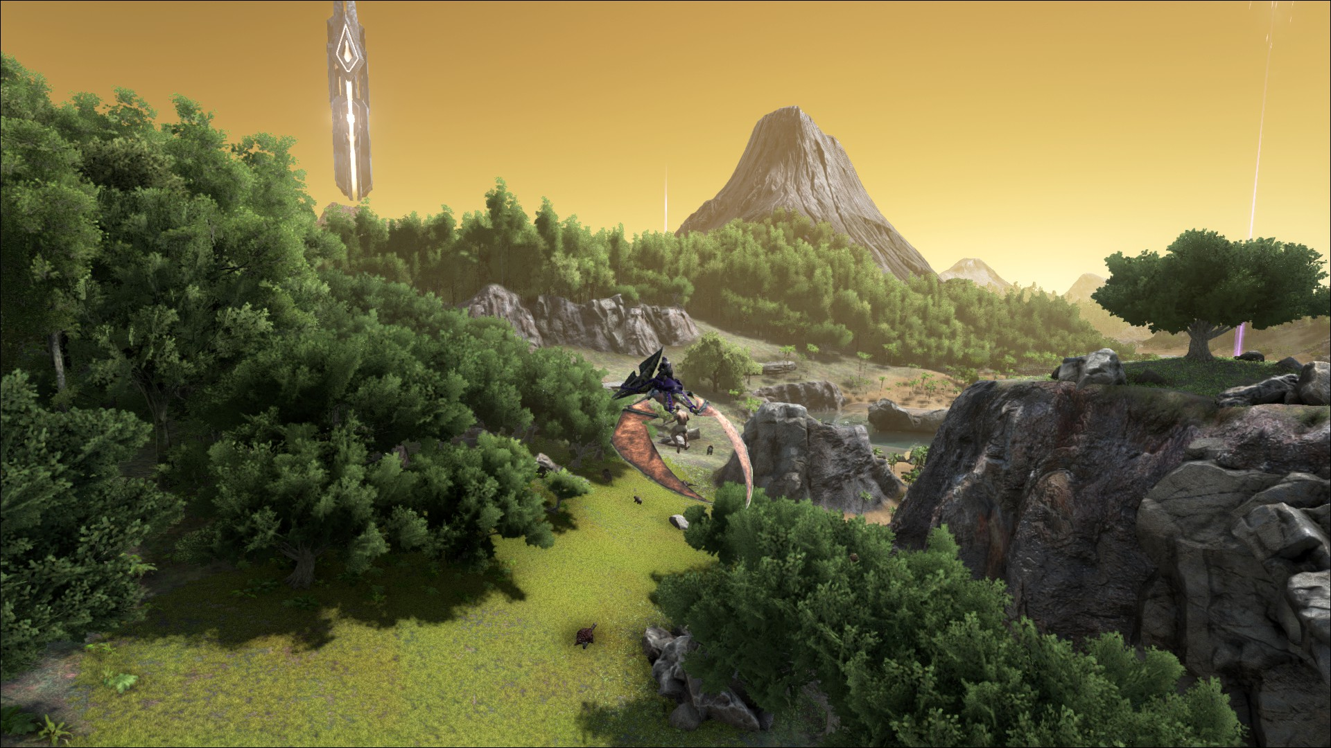 方舟:生存进化 游戏画面