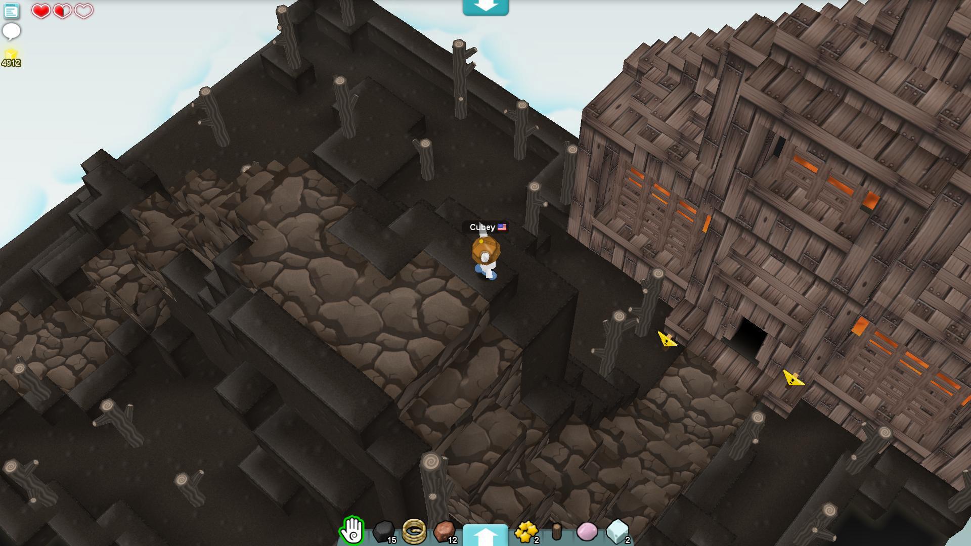 方块城堡 游戏画面