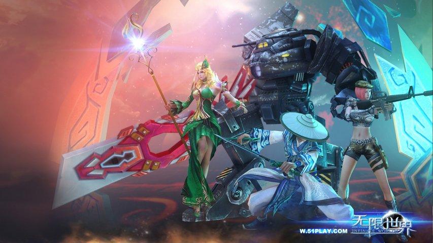 无限世界-游戏壁纸第4张