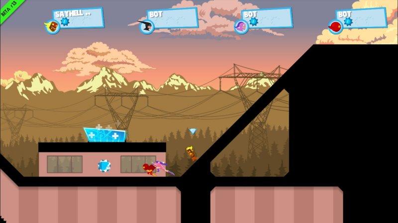 《极速奔跑者》游戏截图第1张