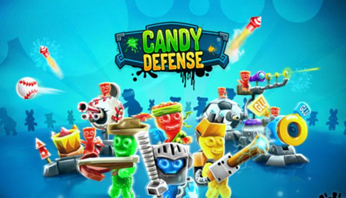 《糖果防御》是一款画风很可爱的卡通塔防游戏,虽然名字有糖果