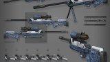 自由禁区-武器原画
