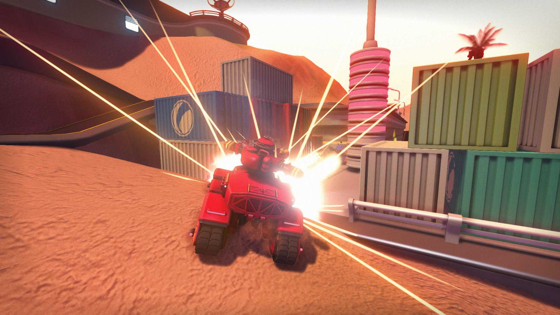 翻滚坦克 游戏画面